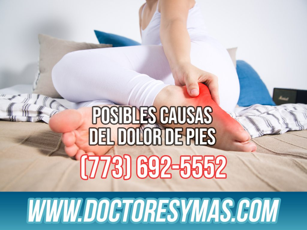Posibles Causas del Dolor de Pies en Chicago