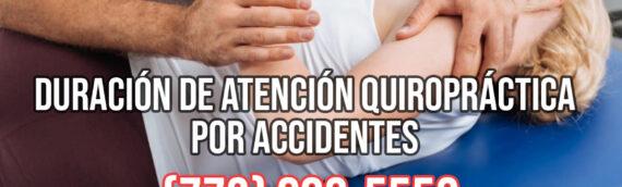 Duración de Atención Quiropráctica por Accidentes en Chicago